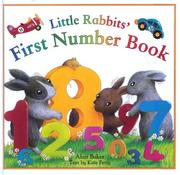 Cover of: Little Rabbit's first number book