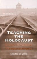 Cover of: Teaching the Holocaust | Ian Davies