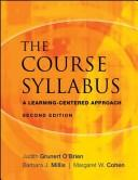 Cover of: The Course Syllabus | Judith Grunert