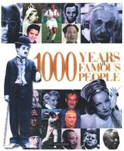 Cover of: 1000 years of famous people |