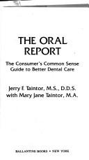 Cover of: Oral Report | Jerry F. Taintor