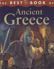 Cover of: The best book of ancient Greece | Belinda Weber