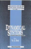 Cover of: Dynamical Systems | Ya G. Sinai
