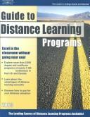 Cover of: Distance Learning Programs 2003 | Peterson