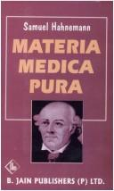 Cover of: Materia Medica Pura Volume 1