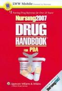 Cover of: Nursing2007 Drug Handbook for PDA