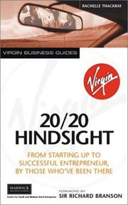 Cover of: 20/20 Hindsight | Rachel Thackray