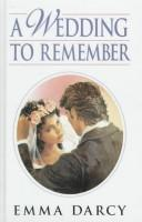 Cover of: A wedding to remember