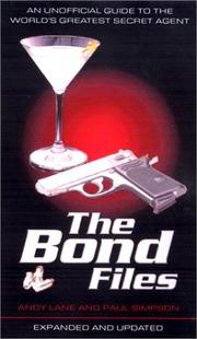 Cover of: The Bond Files | Andy Lane