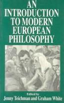 Cover of: An introduction to modern European philosophy |
