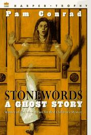 Cover of: Stonewords | Pam Conrad
