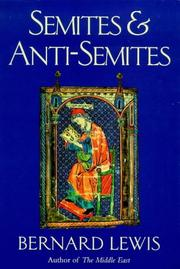 Cover of: Semites and Anti-Semites