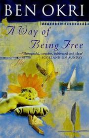 Cover of: A Way of Being Free