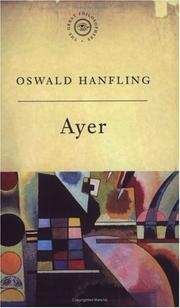 Cover of: A.J. Ayer by