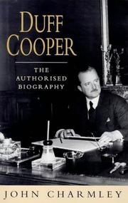 Cover of: Duff Cooper: The authorized biography