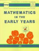 Cover of: Mathematics in the Early Years