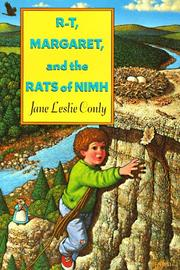 Cover of: R-T, Margaret, and the Rats of NIMH | Jane Leslie Conly