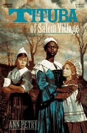 Cover of: Tituba of Salem Village