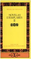 Cover of: Novelas Ejemplares II