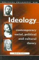 Cover of: Ideology | Robert Porter