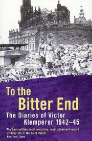 Cover of: To the Bitter End