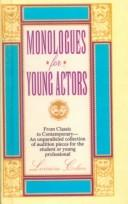 Cover of: Monologues for Young Actors