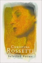Cover of: Christina Rossetti: Selected Poems