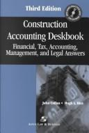 Cover of: Construction Accounting Deskbook | Hugh L. Rice