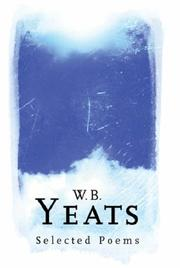 Cover of: W.B.Yeats