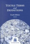 Cover of: Textile Terms and Definitions |