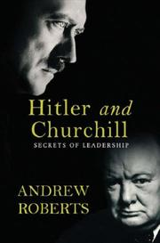 Cover of: Hitler and Churchill
