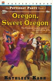 Cover of: Oregon, sweet Oregon
