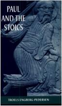 Cover of: Paul and the Stoics | Troels Engberg-Pedersen