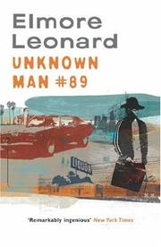 Cover of: Unknown Man Number 89
