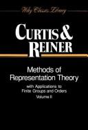 Cover of: Methods of representation theory