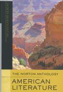Cover of: The Norton Anthology of American Literature, Shorter Seventh Edition, One