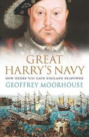 Cover of: Great Harry's Navy: How Henry VIII Gave England Seapower