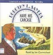 Cover of: Have his carcase