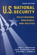 Cover of: U.S. National Security | Sam C. Sarkesian