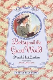 Cover of: Betsy and the Great World (Betsy-Tacy #9)