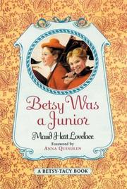 Cover of: Betsy Was a Junior (Betsy-Tacy)
