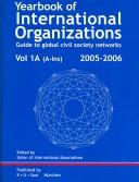 Cover of: Yearbook of International Organizations 2005/2006 | Union of International Associations.