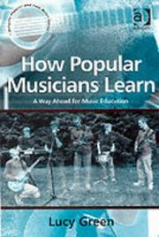 Cover of: How Popular Musicians Learn