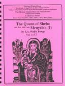 Cover of: The Queen of Sheba and Her Only Son Menyelek (Queen of Sheba & Her Only Son Menyelek)