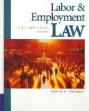 Cover of: Labor and employment law |