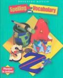 Cover of: Houghton Mifflin Spelling and Vocabulary
