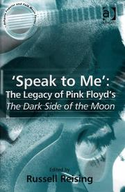 Cover of: Speak To Me