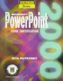 Cover of: Microsoft Powerpoint 2000: Core Certification (Benchmark Series (Saint Paul, Minn.).)