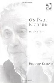 Cover of: On Paul Ricoeur