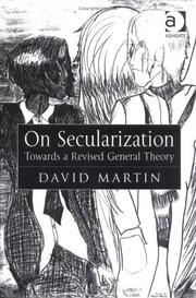 Cover of: On secularization